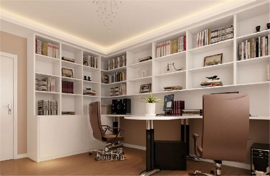 书房如何装修才能让你静心读书?